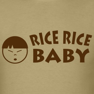 Khaki Rice Rice Baby T-Shirts - Men's T-Shirt