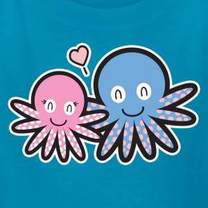 TAKO DIVER 808 OCTOPUS LOVE LOVE KID'S TEE - Kids' T-Shirt