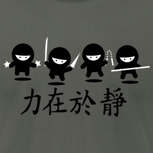 Asphalt Ninja Army T-Shirts - Men's T-Shirt by American Apparel