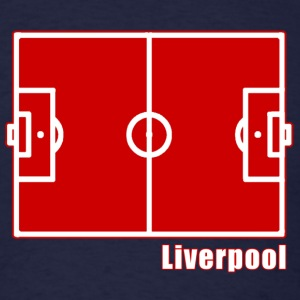 Liverpool FC Footy Pitch - Men's T-Shirt
