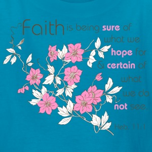 Classic pink Faith (pink & brown) Kids' Shirts - Kids' T-Shirt