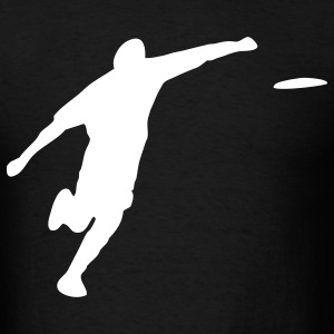Frisbee thrower - Men's T-Shirt