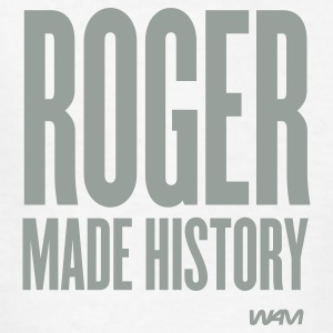 White ROGER made history Kids' Shirts - Kids' T-Shirt