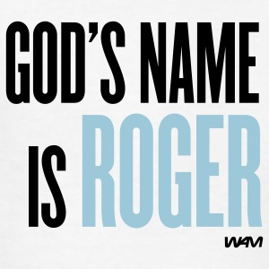 White god's name is roger Kids' Shirts - Kids' T-Shirt