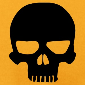 Gold Skull T-Shirts - Men's T-Shirt by American Apparel