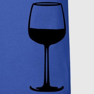 Royal blue Wine - Glass T-Shirts - Men's T-Shirt