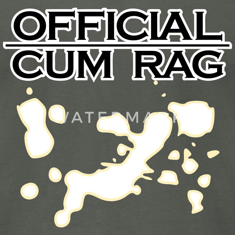 Official Cum Rag - Men's T-Shirt by American Apparel