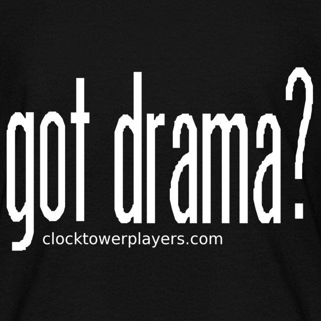 """Kids """"Got Drama?"""" Trouper Tee"""