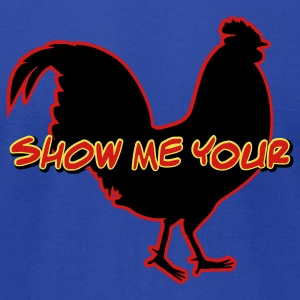 Show Me Your Cock - Men's T-Shirt by American Apparel
