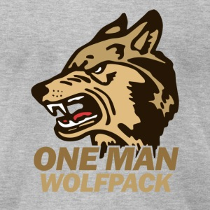 Heather grey the Hangover Wolfpack T-Shirts - Men's T-Shirt by American Apparel