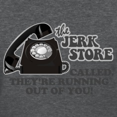 Deep heather Seinfeld Jerk Store Women's T-Shirts