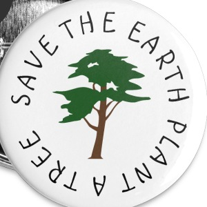 Save The Earth Buttons - Large Buttons