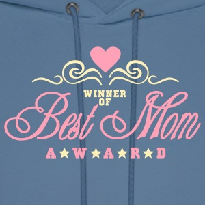 Green best mom award (2c) Hoodies - Men's Hoodie