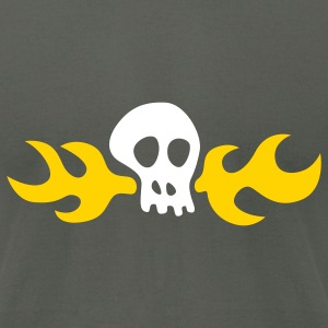 Day of the Tentacle: Hoagie Skull T-Shirts - Men's T-Shirt by American Apparel
