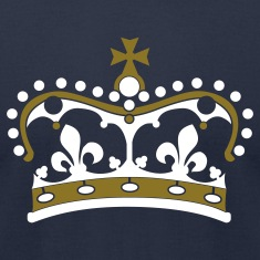 Navy crown 2c T-Shirts