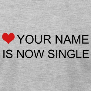 Heather grey now single custom by wam T-Shirts - Men's T-Shirt by American Apparel
