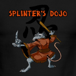 Splinter's Dojo Mens Ringer Tee All Colors - Men's Ringer T-Shirt