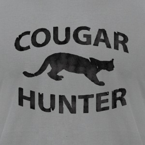 Slate Cougar Hunter T-Shirts - Men's T-Shirt by American Apparel