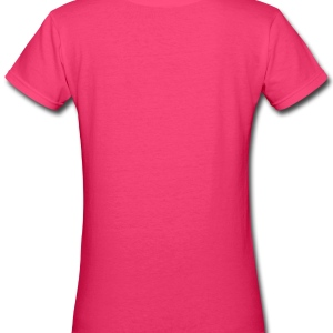 Small is the Boss - Women's V-Neck T-Shirt
