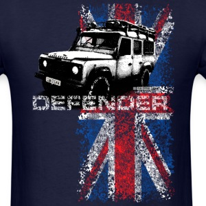Navy Land Rover Defender - AUTONAUT.com T-Shirts - Men's T-Shirt