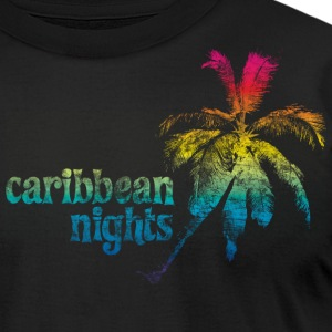 Black caribbean T-Shirts - Men's T-Shirt by American Apparel