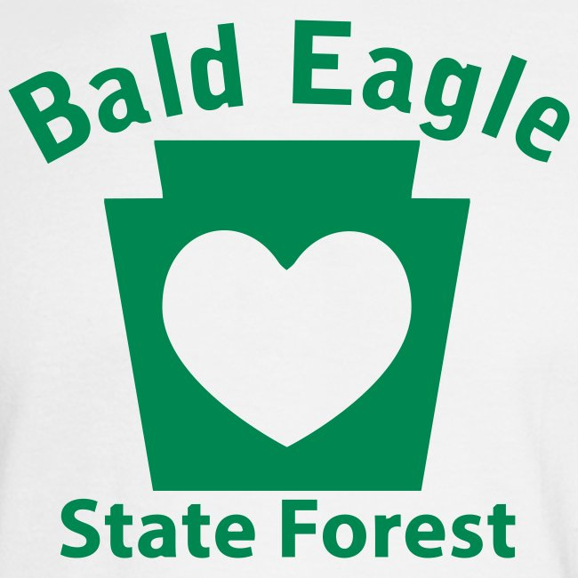 Bald Eagle State Forest Keystone Heart