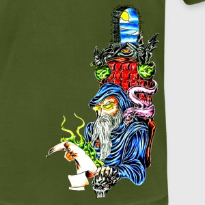 Olive wizard T-Shirts - Men's T-Shirt by American Apparel