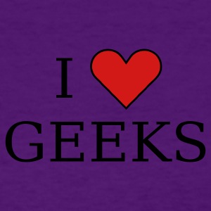 Light blue I heart geeks (black) Women's T-Shirts - Women's T-Shirt