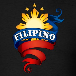 Definitely Filipino (BLACK-BS) - Men's T-Shirt