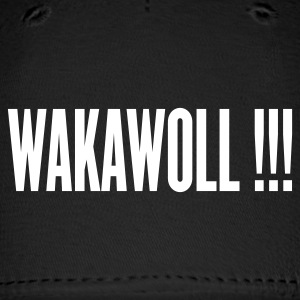 Black wakawoll ( rock ' n roll ) Caps - Baseball Cap