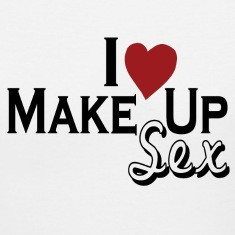 White i_love_make_up_sex Women's T-Shirts