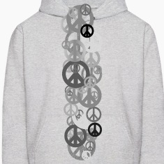 Ash  PEACE Hoodies
