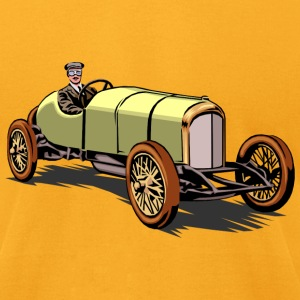 old race - Men's T-Shirt by American Apparel