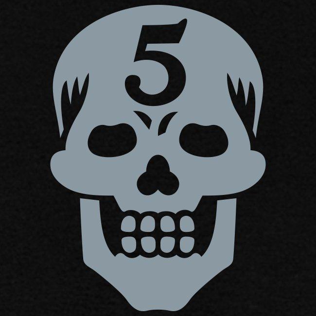Operator 5 Skull Metallic Tee (M)