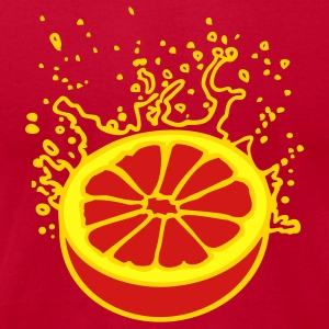 Orange juicy orange or grapefruit (3c) T-Shirts - Men's T-Shirt by American Apparel