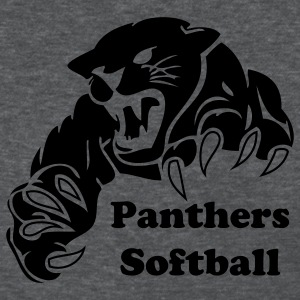 Deep heather panther custom team graphic Women's T-Shirts - Women's T-Shirt