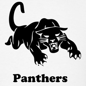 White panthers sports team graphic T-Shirts - Men's T-Shirt