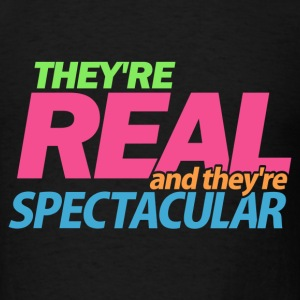 Black Real Spectacular Seinfeld T-Shirts - Men's T-Shirt