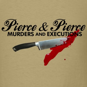 Khaki American Psycho Pierce T-Shirts - Men's T-Shirt