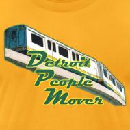 Design ~ Detroit People Mover men's American Apparel Tee