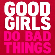 Eggplant good girls do bad things T-Shirts