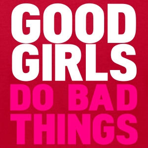 Eggplant good girls do bad things T-Shirts - Men's T-Shirt by American Apparel