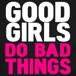 Black/white good girls do bad things T-Shirts - Men's Ringer T-Shirt