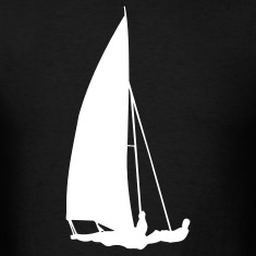 Black sailboat T-Shirts
