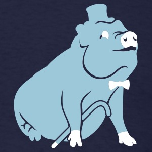 Sir Pig - Men's T-Shirt