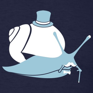 Sir Snail - Men's T-Shirt