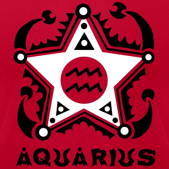 Aquarius Zodiac Sign - Unique astrology designs - Your horoscope symbol |  Men's Jersey T-Shirt