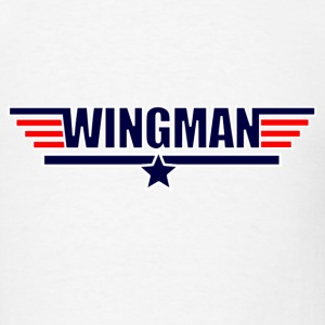 White Wingman How Met Mother T-Shirts - Men's T-Shirt