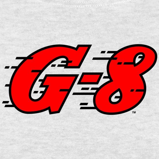 G-8 Red Logo Tee (M)