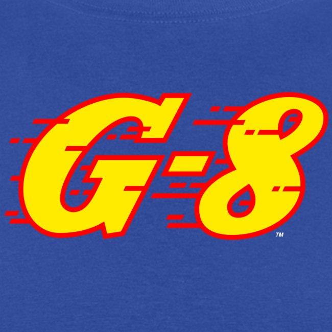 G-8 Yellow Logo Tee (M)